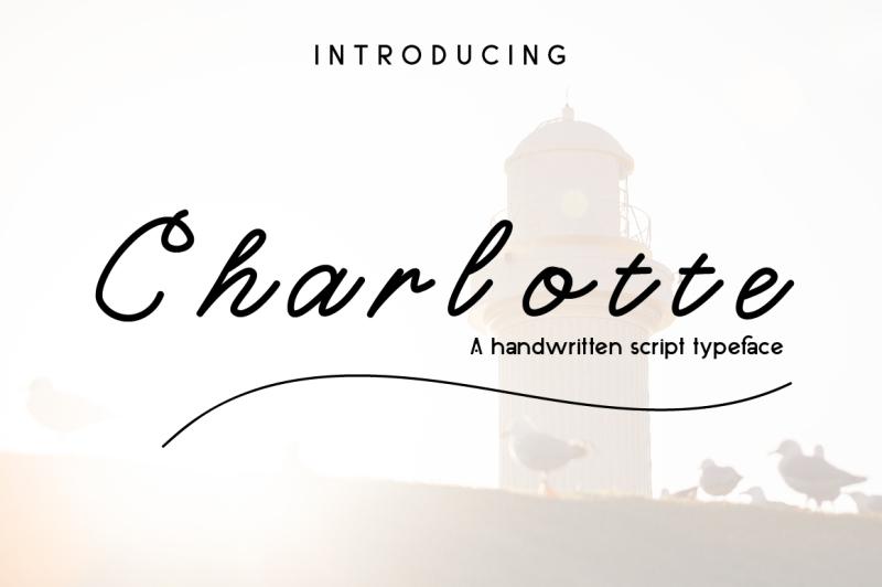 charlotte-script-tyapeface