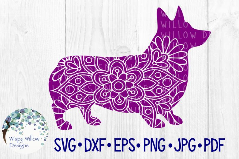 corgi-dog-mandala-svg-dxf-eps-png-jpg-pdf