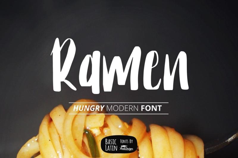 ramen-font