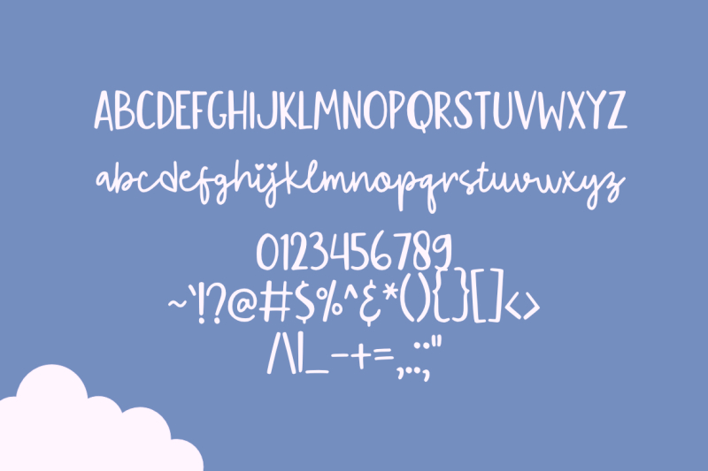 flying-kite-font
