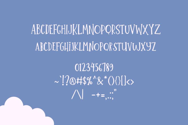 little-summer-cute-font