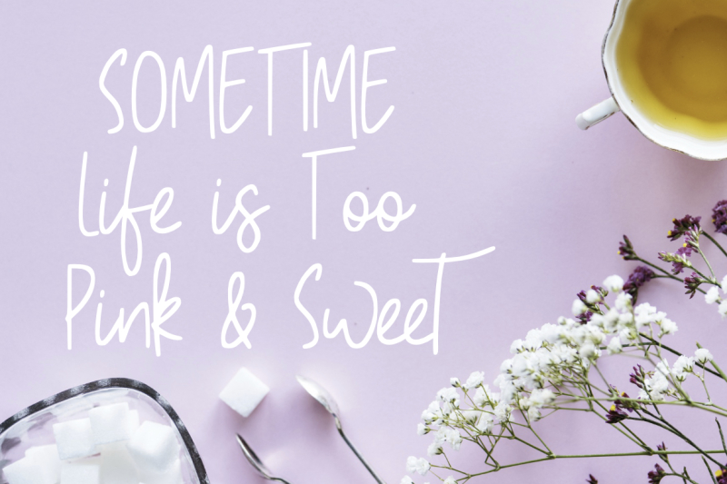 pinky-sweet-cute-font