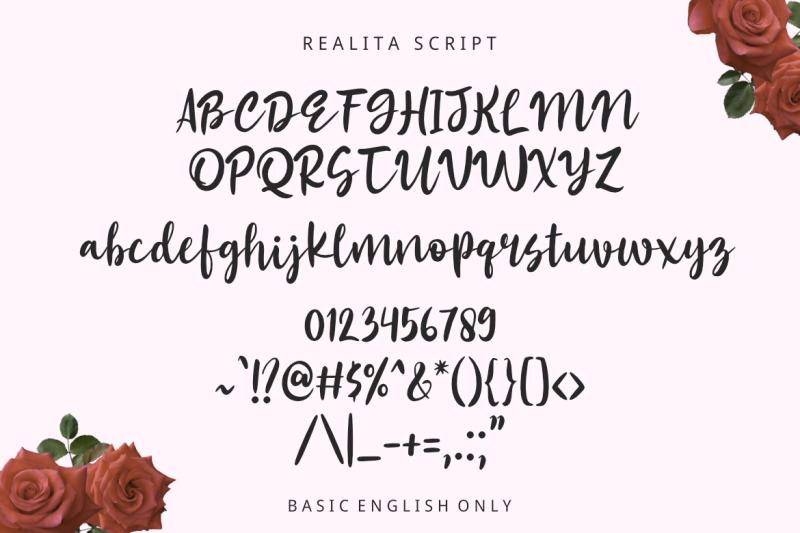 realita-color-font