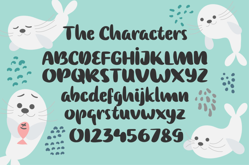 baby-seal-font