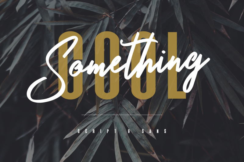 something-cool-typeface