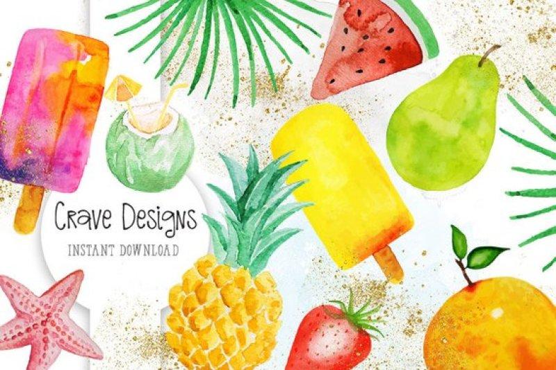exotic-fruits-clip-art