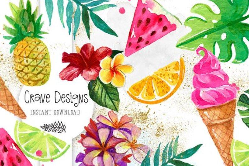 tropical-summer-clipart