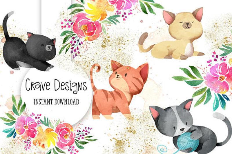 cute-little-kittens-set