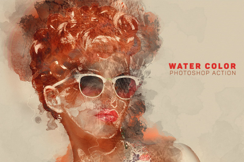 water-color-photoshop-action
