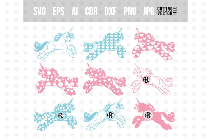 unicorn-vector-bundle-svg-eps-ai-dxf-png-jpg