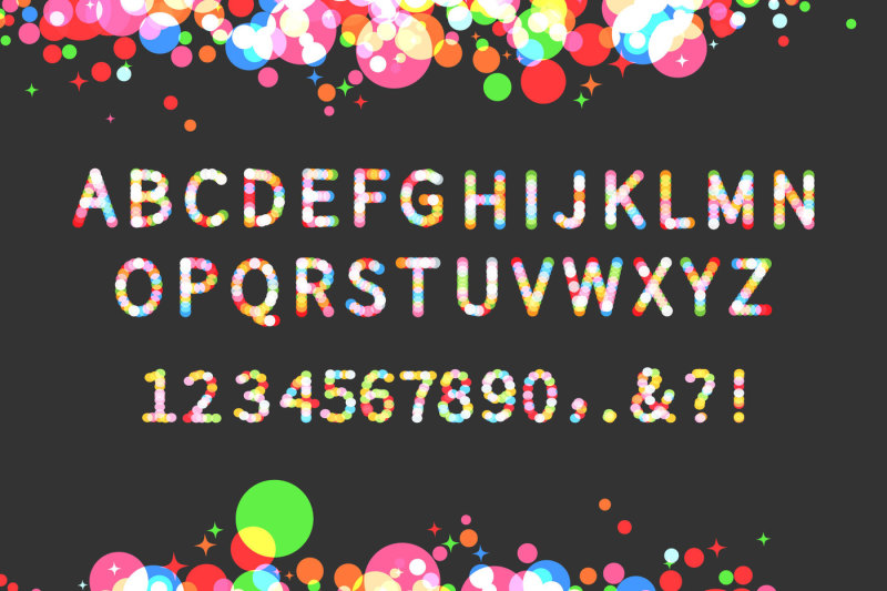 sparkle-vector-display-typeface