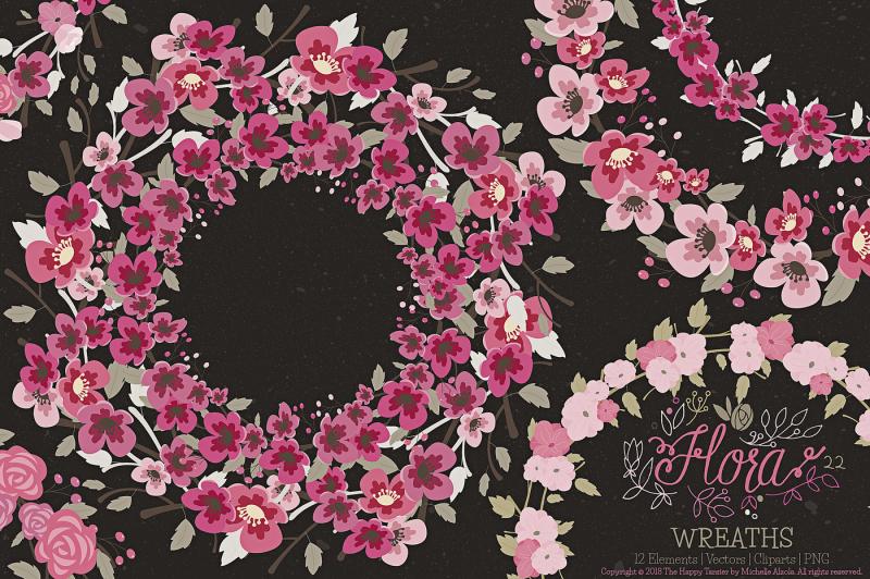 flower-wreaths-clipart-and-vector-ndash-flora-22