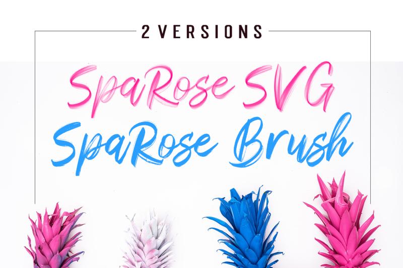 sparose-svg-font