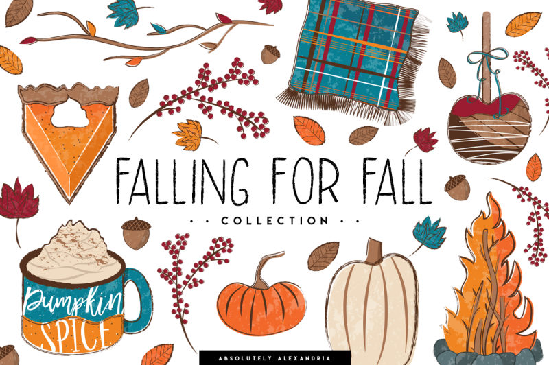 falling-for-fall-clipart-illustrations-and-seamless-paper-patterns-bundl