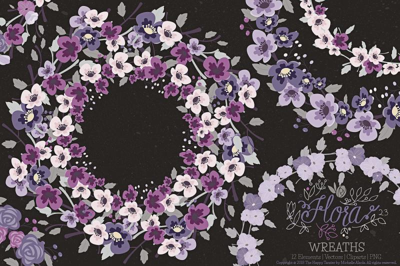 flower-wreaths-clipart-and-vector-flora-23