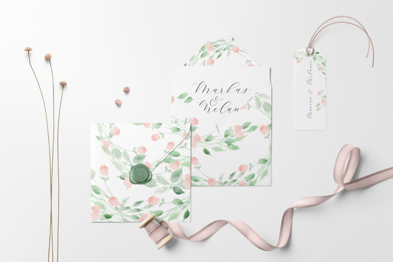 belle-and-blossom-watercolor-collection