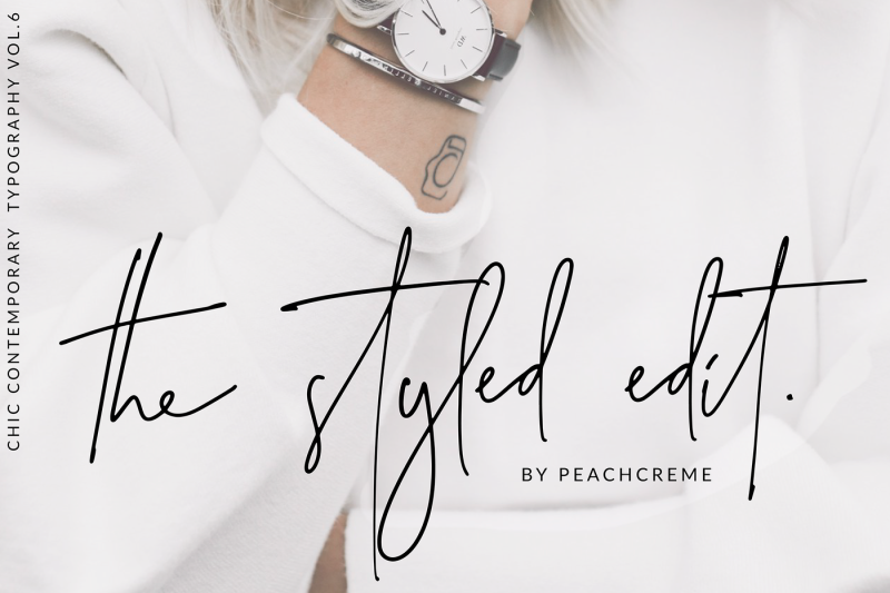 the-styled-edit-chic-ligature-font