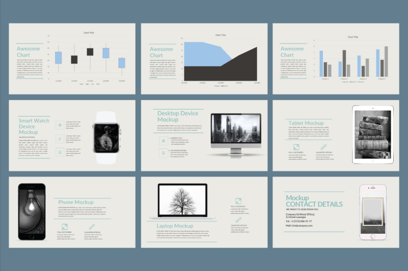 consue-powerpoint-template