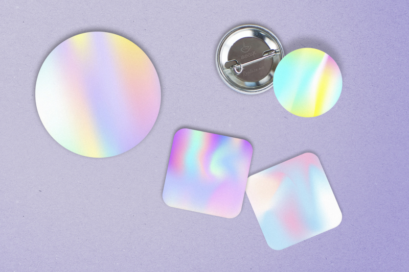 25-square-holographic-backgrounds
