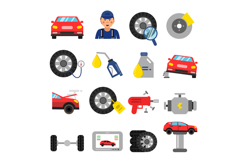 automobile-parts-wheels-and-tires-service-of-cars