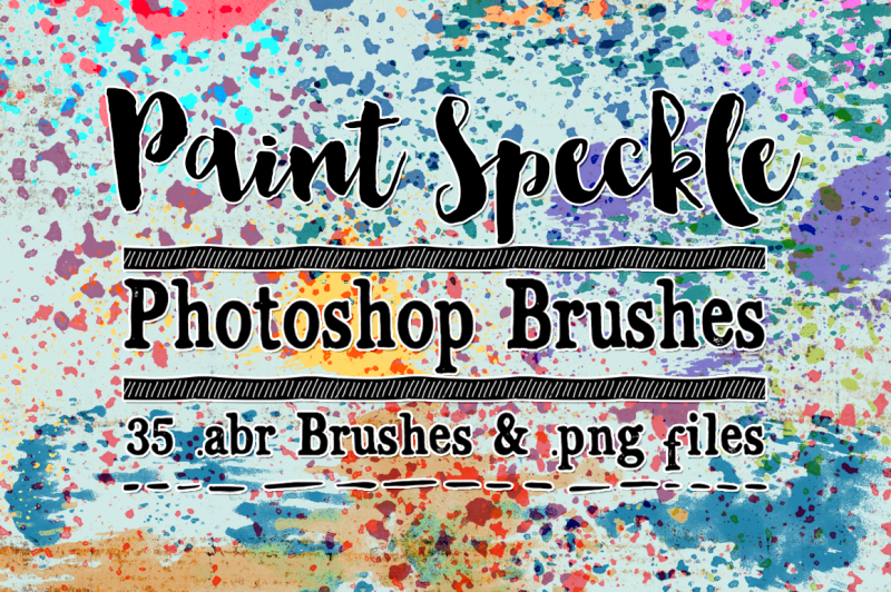 paint-speckle-photoshop-brushes