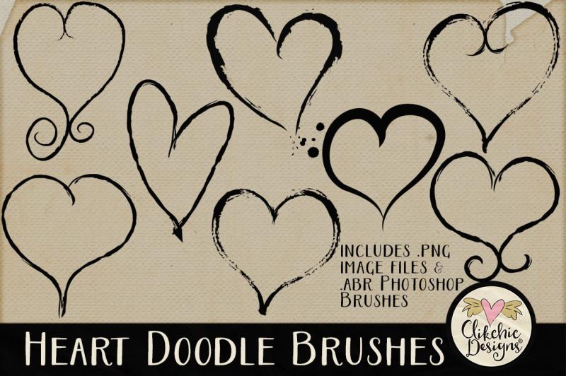 heart-doodle-photoshop-brushes