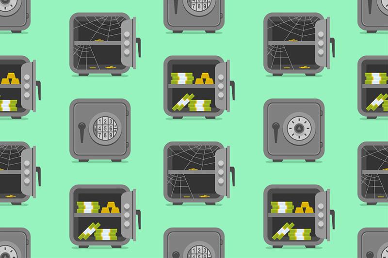 set-of-metal-safes-pattern