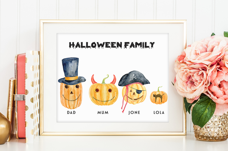 halloween-pumpkin-family-clipart