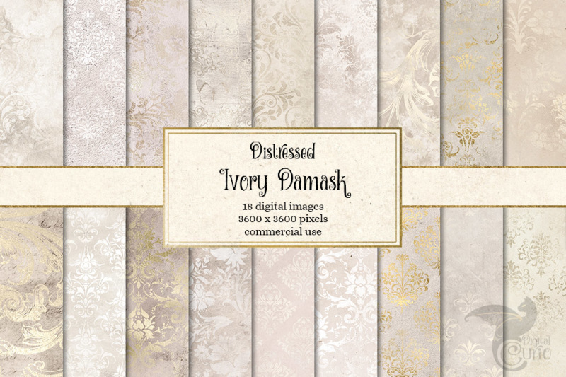 distressed-ivory-damask-textures