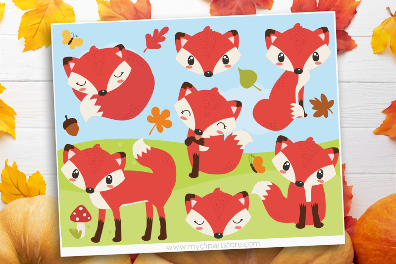 so-foxy-forest-animals-vector-svg-clip-art