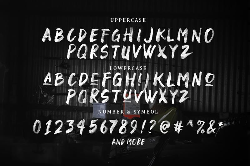 black-space-svg-font