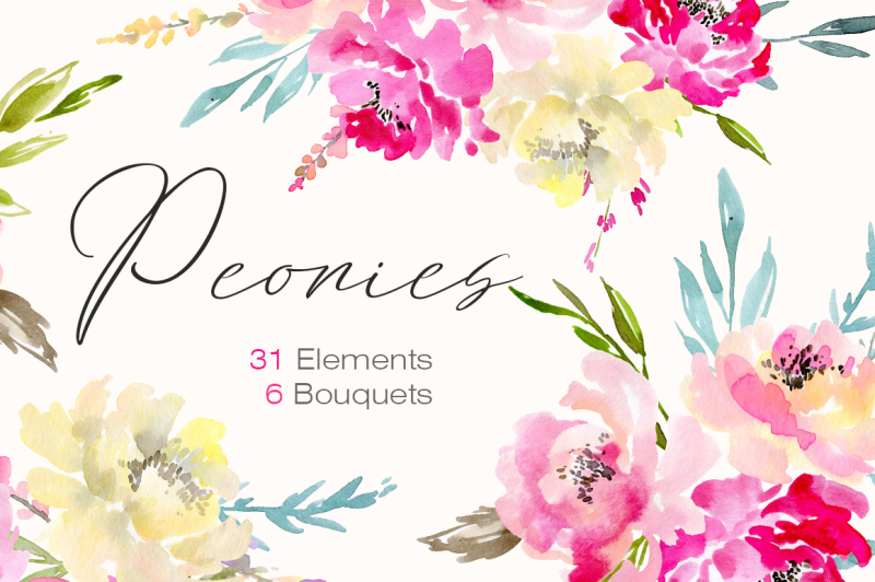 watercolor-peonies-flowers-bouquets
