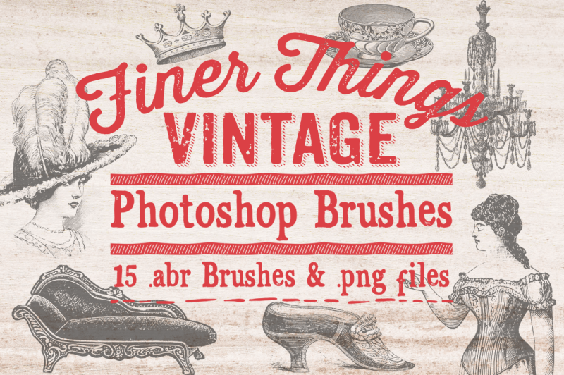 finer-things-vintage-photoshop-brushes