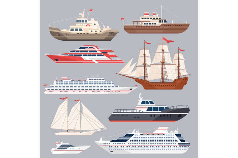 set-of-different-vessels-sea-boats-and-other-big-ships