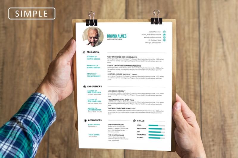 simple-resume-set