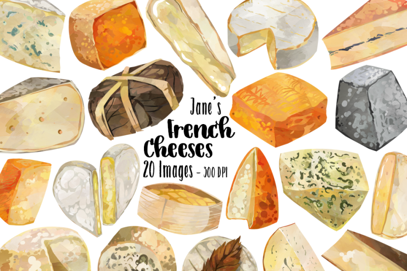 watercolor-french-cheese-clipart