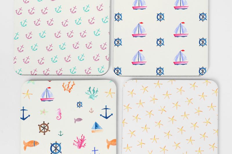 nautical-watercolor-patterns