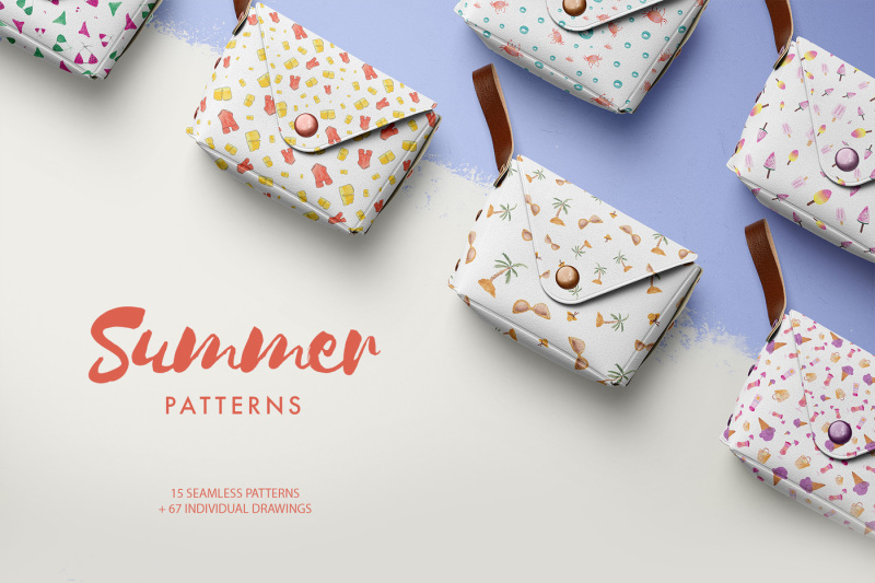watercolor-summer-patterns