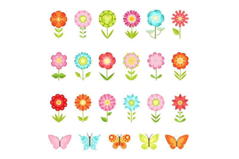 funny-butterfly-on-flowers-in-garden
