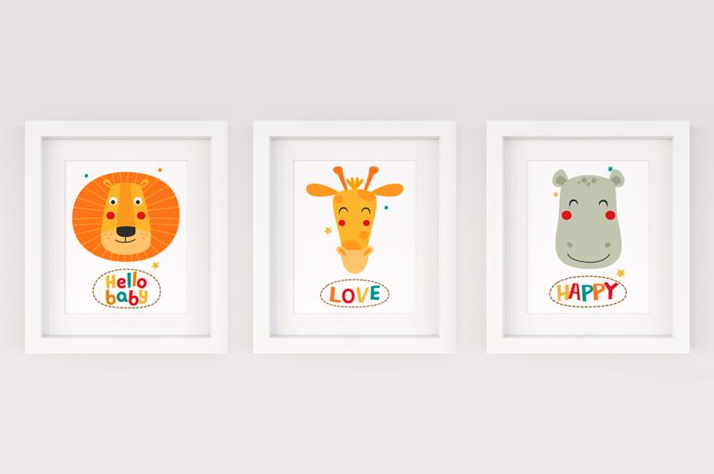 cute-animals-of-africa-vector-set