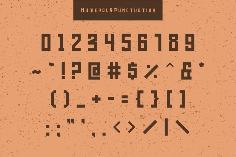 bedebah-typeface