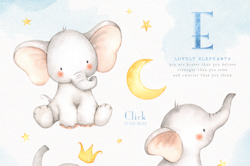 lovely-elephants-watercolor-clip-art