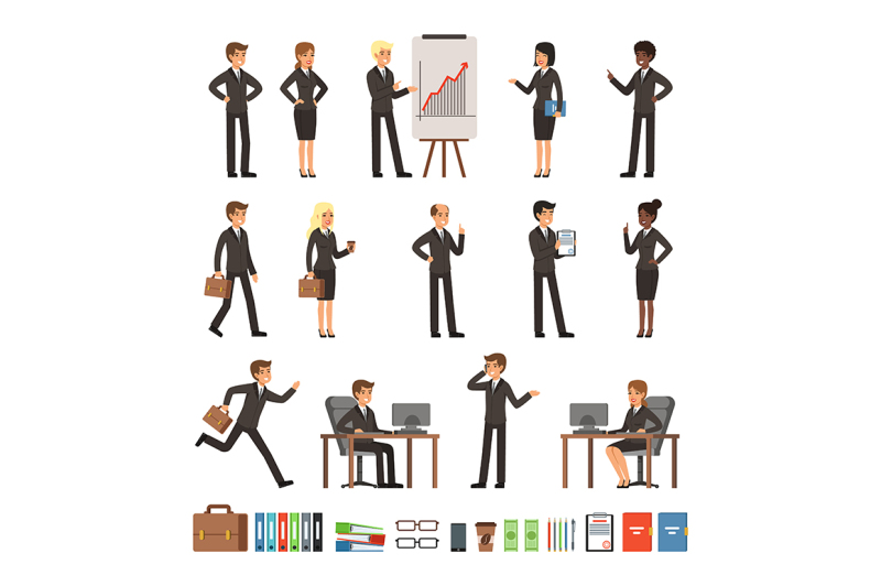 characters-design-set-of-business-people-man-and-woman-office-workers