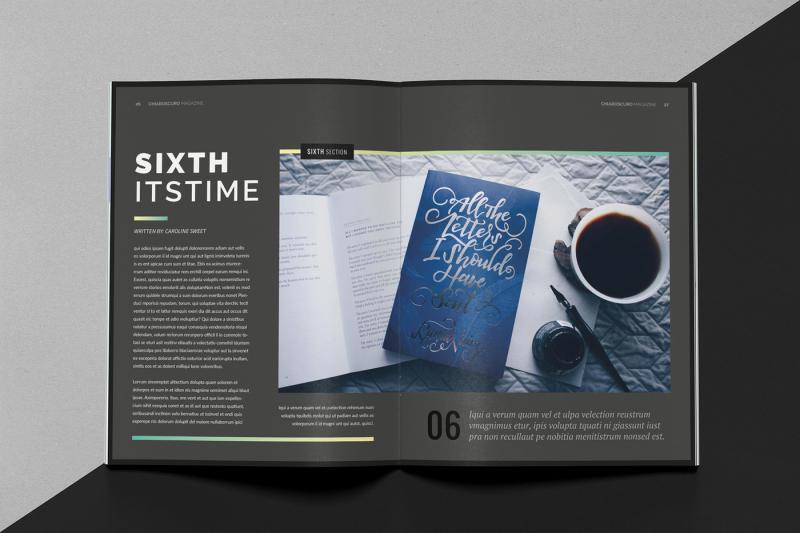 chiaroscuro-magazine-template