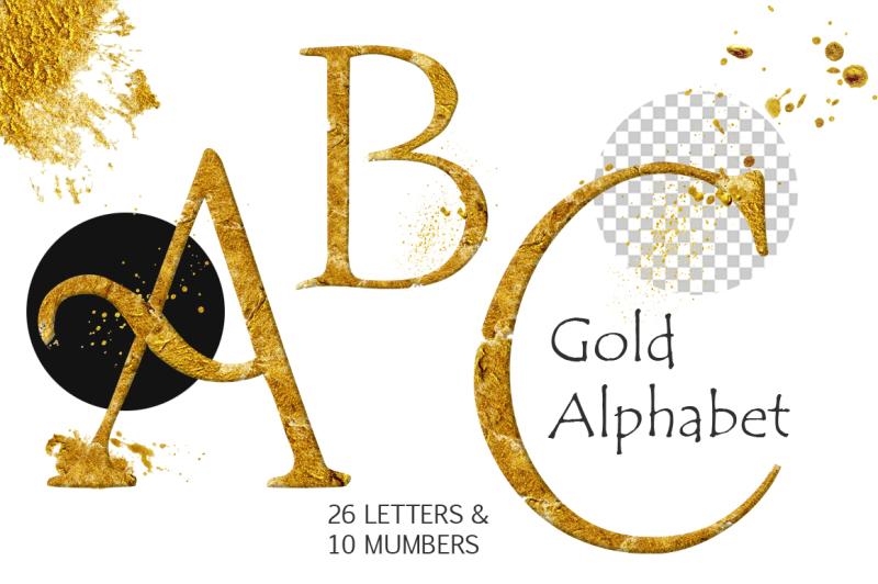 gold-alphabet-clipart