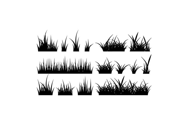 monochrome-illustration-of-grass