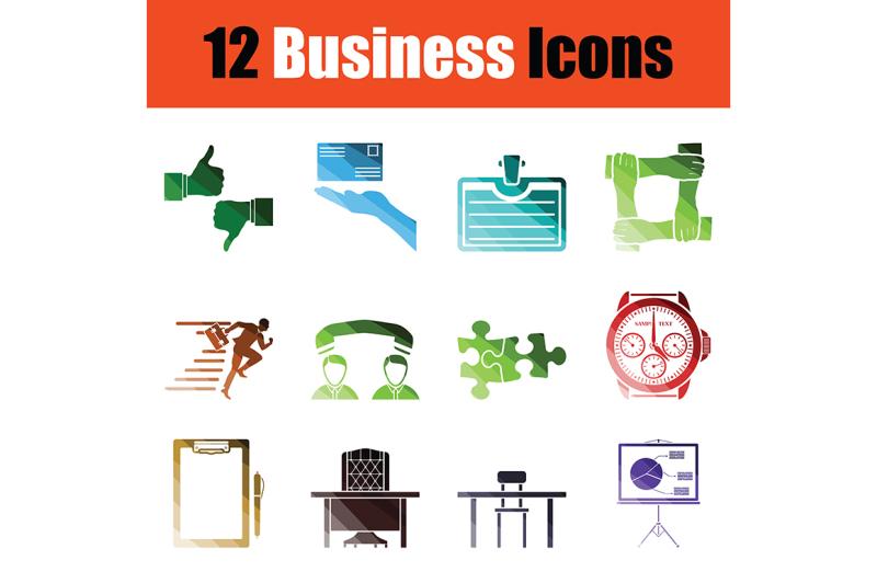 business-icon-set