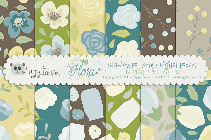 flora-19-bundle-vector-clipart-and-patterns