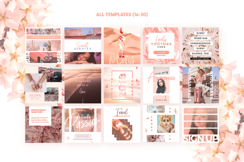 blush-emotions-social-pack