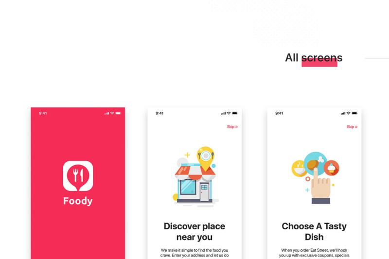 foody-food-app-ui-kit